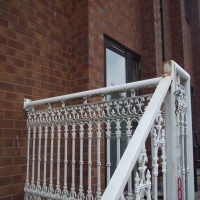 Steel staircases and fire escapes